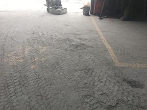 水泥地坪道路破损修复方法1
