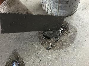 地坪道路坑洞裂缝修补1